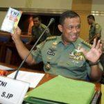 Kepala Staf TNI Angkatan Darat Jenderal Djoko Santoso